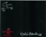 Caroline Munro and Martine Beswick Genuine Autograph